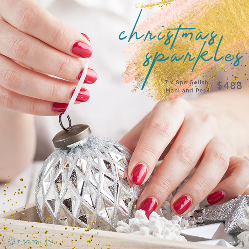 Christmas Sparkler Nail Package