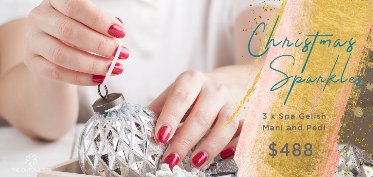 Christmas Sparkle Nail Package