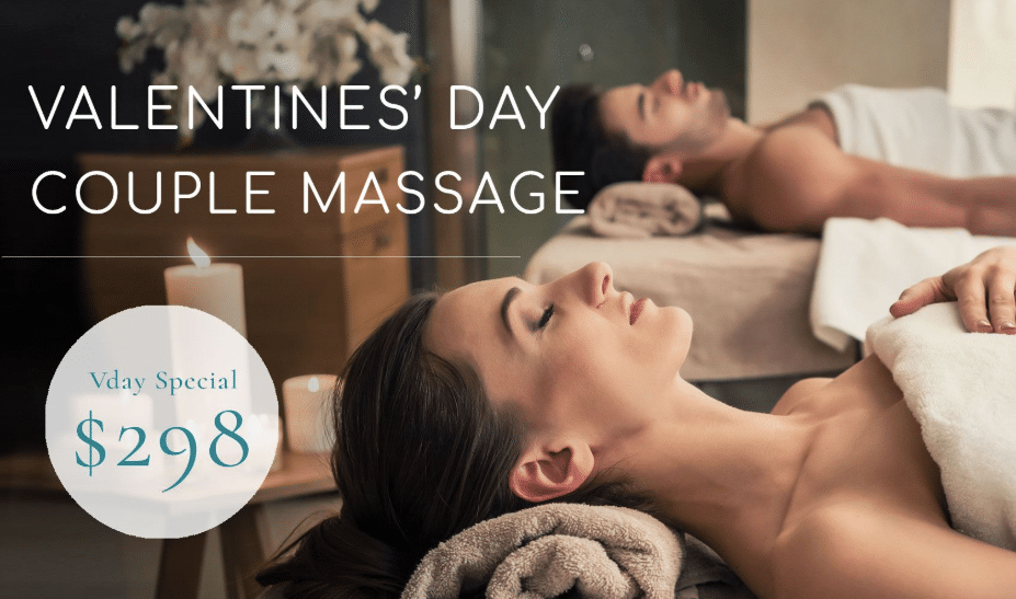 Valentines Day Couple Massage